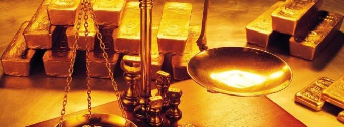 терези і золото
